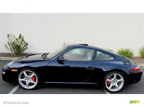 porsche midnight blue midnight blue metallic 2006 porsche 911 carrera s coupe
