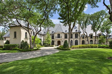 Floor Plans Texas 12 000 Square Foot Newly Listed French Style Mansion In