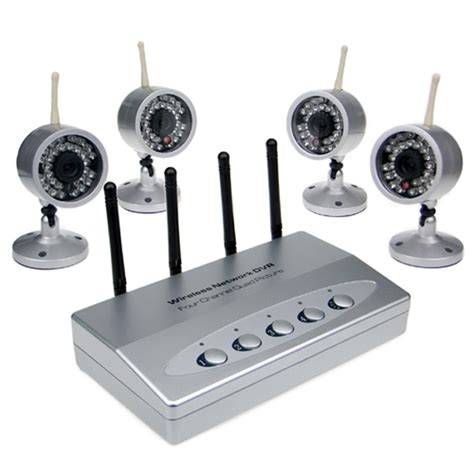 4 channel kits home security system wireless