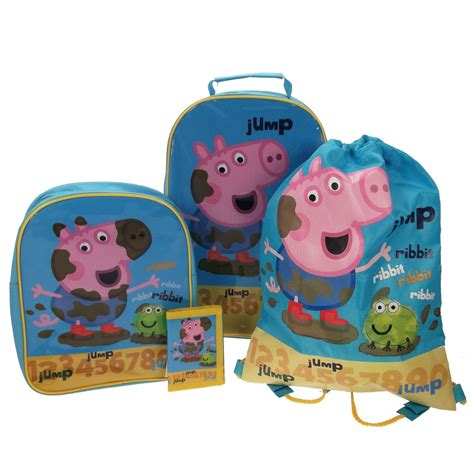 peppa pig bedroom decor official peppa pig george room decor bags backpacks towels more ebay