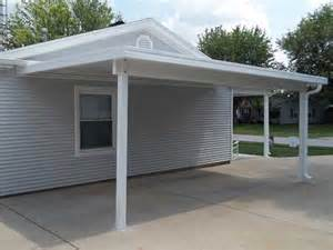 Carports With Storage Attached Dacraft Dayton Ohio Residential Products Car Ports