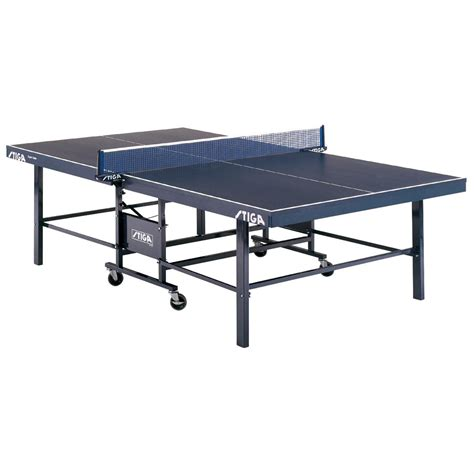 ping pong table stiga stiga 174 expert roller table tennis table 171401 at sportsman s guide