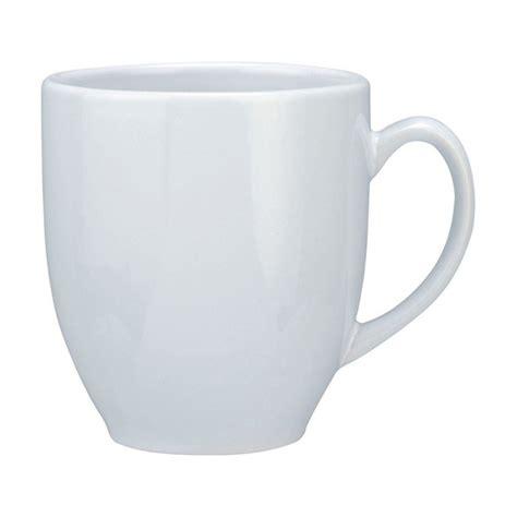 shaped mug vancouver cup shaped mug all white large 440ml
