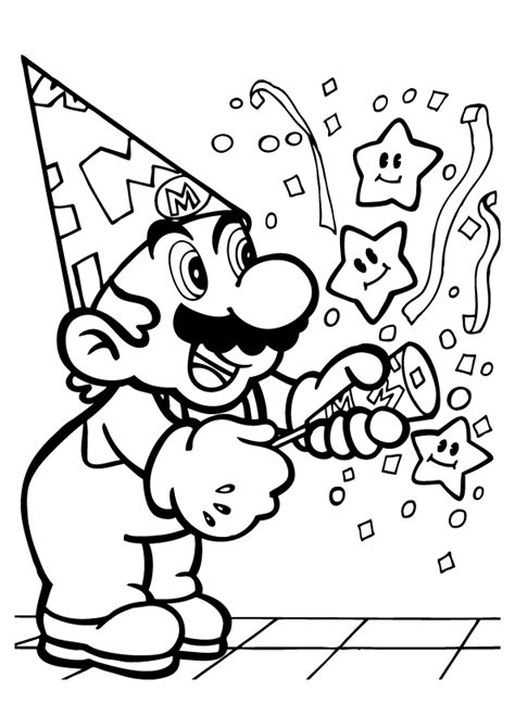 coloring pages for kids boys mario coloring pages mario bros kids coloring 4 boys