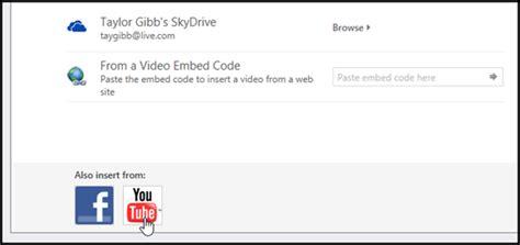 tutorial memasukan video ke powerpoint memasukkan video youtube ke microsoft power point 2013