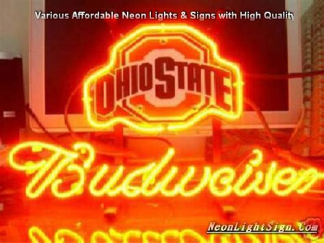 ohio state neon light ncaa ohio state buckeyes neon light sign ncaa