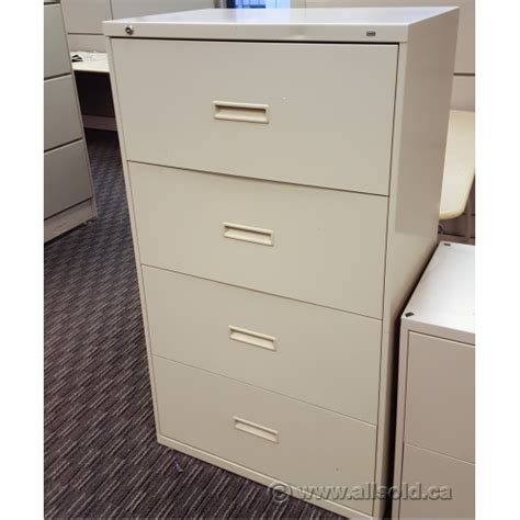 hon 4 drawer lateral file cabinet hon beige 4 drawer lateral file cabinet locking allsold