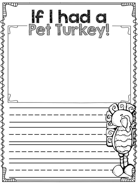 Writing Template For Thanksgiving Cards Kindergarten by Best 25 Thanksgiving Writing Ideas On