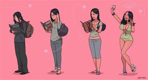 bimbo in bimbo reader bimbofication surakuraanon s idea by