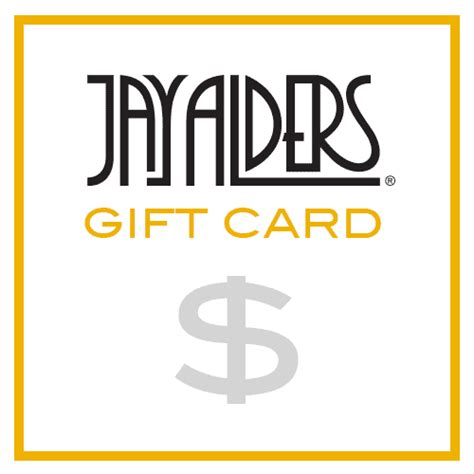 Jay Jays Gift Card - gift card the art of jay alders