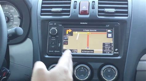 subaru navigation system update how to use subaru navigation system