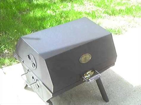 backyard classics 2 in 1 tailgate grill my new cheap grill youtube