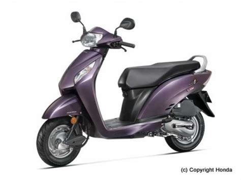 honda activa scooter price list 2016 honda activa i colours price mileage reviews