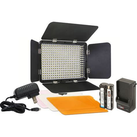 light kit vidpro led 330 on led light kit led 330 b h photo