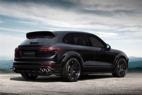 porsche suv blacked out porsche cayenne gt 2015 black on black topcar
