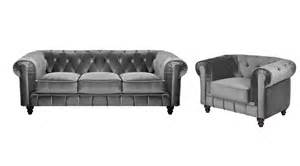 canape 3 places velours chesterfield meilleures ventes