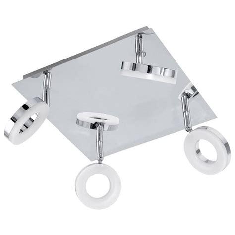 led bathroom ceiling light fittings eglo lighting gonaro 4 light led bathroom ceiling spot