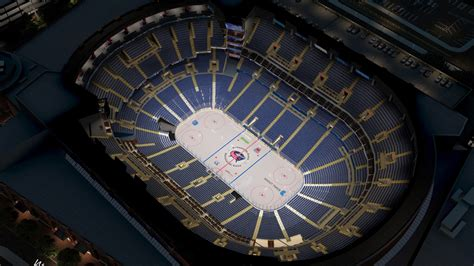 Verizon Center Floor Plan columbus blue jackets virtual venue by iomedia