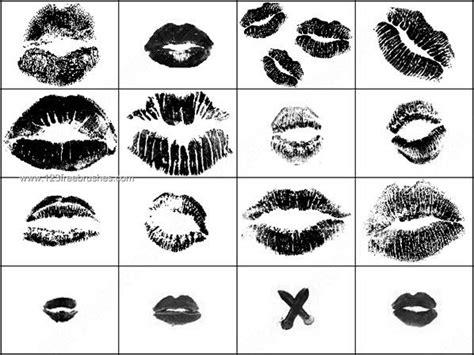 kiss pattern photoshop photoshop brushes free lips photoshop free brushes