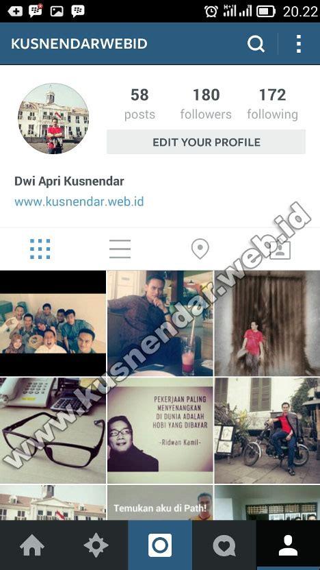 instagram tutorial usernames cara mengganti username dan nama id instagram di hp
