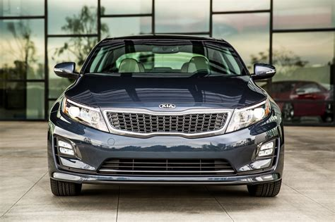 How Much Is A Kia Optima 2014 2014 Kia Optima Hybrid Photo Gallery Autoblog
