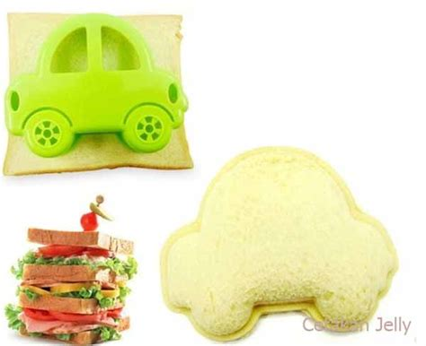 Barang Premium Car Sandwich Mold Bread Mold Sandwich Maker cetakan roti bento car bread sandwich mould cetakan