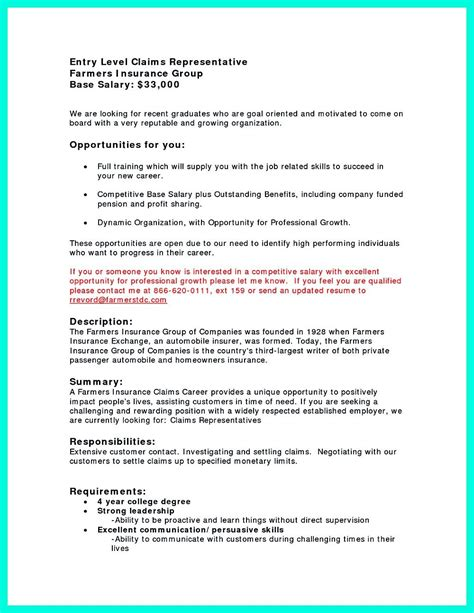 Claims Insurance Department Of Resume by The College Essay Simsbury Schools Cover Letter