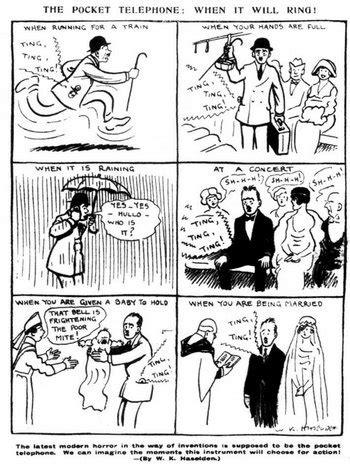 El cómic de hace 100 años que predijo la molestia de los