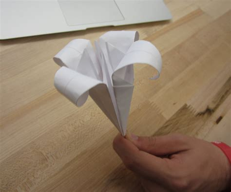 How To Make A Paper Lilly - how to make a paper all