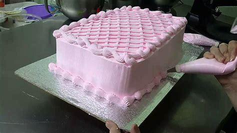 decoracion de torta con merengue sencilla decoraci 243 n sencilla con merengue youtube