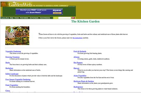 that home site forums gardenweb