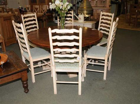 round farmhouse painted kitchen dining table oak round farmhouse painted kitchen dining table oak