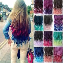 colorful ombre colorful ombre hair extensions in 2016 amazing photo