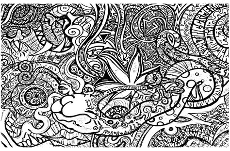 To Print This Free Coloring Page 171 Coloring Psychedelic 3 Trippy Printable Coloring Pages