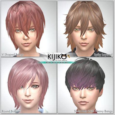 sims 4 hair kids kids hair cc sims 4 hairstylegalleries com