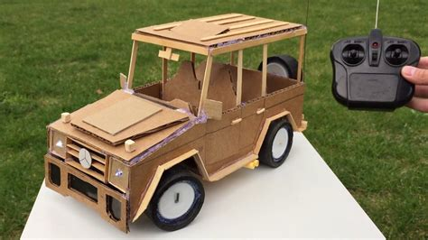 how to make a mini rc car how to make a car with remote using cardboard