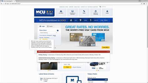 tutorial online banking mcu online banking login tutorial youtube
