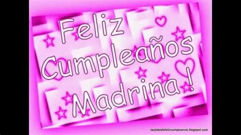 Imagenes Feliz Cumpleaños Madrina | feliz cumplea 209 os madrina youtube
