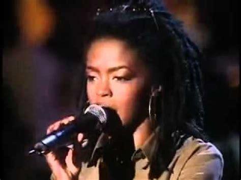 lauryn hill ziggy marley lauryn hill and ziggy marley redemption song live