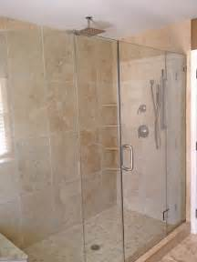 bathroom tile ideas for showers light walnut tumbled shower contemporary bathroom philadelphia by stonemar