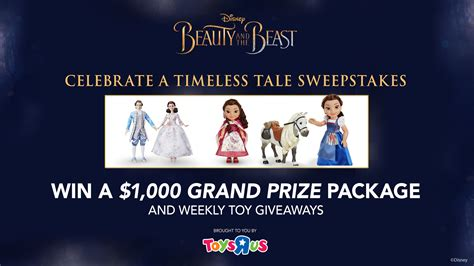 Sheknows Sweepstakes - celebrate a timeless tale by entering our sweepstakes