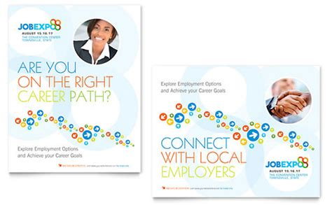 professional services posters templates designs
