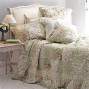 Patchwork Bedspreads Uk - patchwork bedspread green