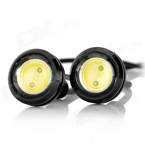 1 Pair 2 Biji Lu Led Eagle Eye Drl Daytime 2 Smd 5630 18 Mm Blue exled 1 5w 110lm led lumi 232 re blanche aigle yeux lumi 232 re pour voiture 12v pair envoie