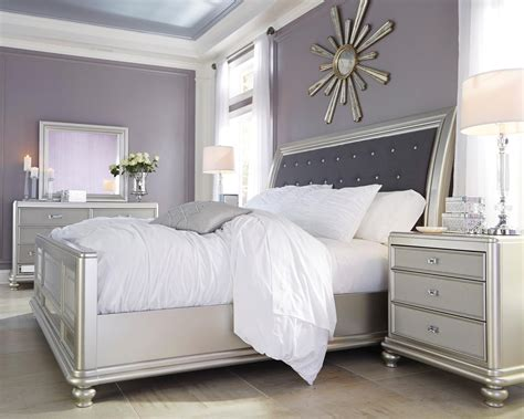 signature design  ashley coralayne queen bedroom group  city furniture bedroom groups