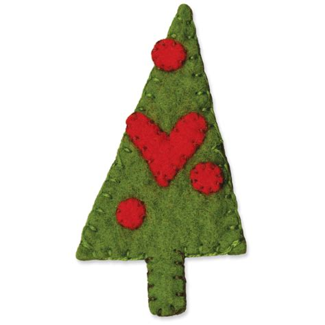 sizzix originals die christmas tree 3