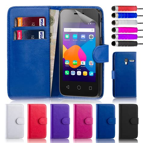 alcatel phone cases 32nd book wallet pu leather cover for alcatel phones