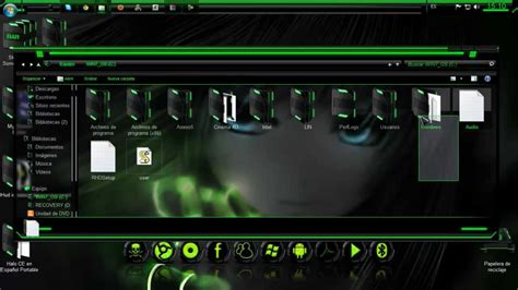 razer green theme for windows 8 1 by the bull nuevo pack de personalizacion tema razer green para