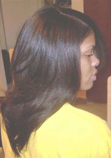 sew in hairstyles gallery sew in with brazilian straight hair hair styles by g