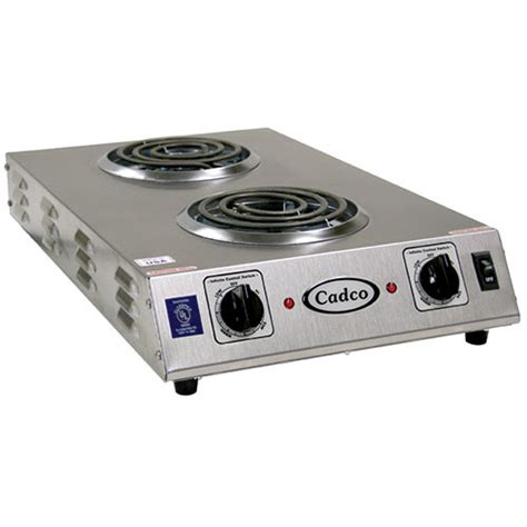 Electric Countertop Range by No Cdr 1tfb Countertop Electric Range 2 6 Quot Burners 1650 Watts Ebay